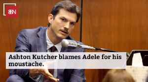How Ashton Kutcher Ended Up With His New Look [Video]