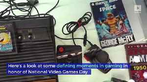 Defining Moments in Gaming (National Video Games Day) [Video]