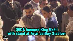 DDCA honours King Kohli with stand at Arun Jaitley Stadium [Video]