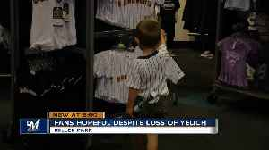 Fans hopeful despite loss of Christian Yelich [Video]