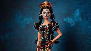 News video: Mattel to debut 'Day of the Dead' Barbie
