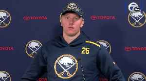 Rasmus Dahlin excited for his second season in the NHL [Video]