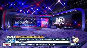 Democrats prepare for party's third debate [Video]
