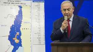 News video: Netanyahu's Pledge To Annex West Bank Area Rattles Peace Process