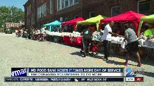 Maryland Food Bank encouraging volunteers to do more [Video]