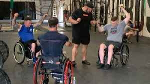 News video: Veterans working together to regain metal and physical strength
