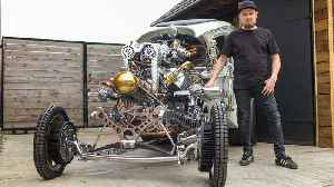 Inventor Builds Steampunk Hot Rod From Scratch   RIDICULOUS RIDES [Video]