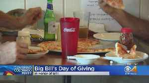 Big Bill's NY Pizza Donates Proceeds To Cancer Research [Video]