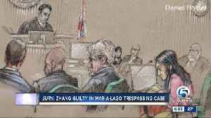 News video: Chinese woman found guilty of trespassing at Mar-a-Lago