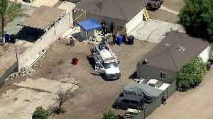 Trail of Blood Leads to Gruesome Discovery in Backyard Water Tank in SoCal [Video]
