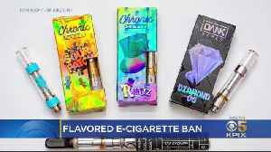 Bay Area Leaders Praise President's Announced Ban Of Flavored E-Cigarettes [Video]