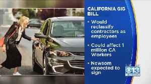 California Senate Passes Bill That Could Transform Uber And Lyft [Video]