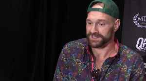 News video: Tyson Fury: I plan to be a good boy