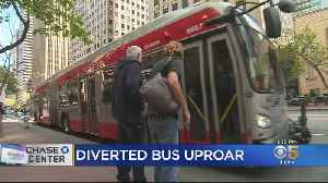 Diverted Muni Buses Helped Chase Center Event Traffic At Expense Of Residents [Video]