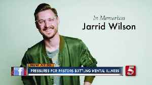 News video: Pressures for pastors battling mental illness