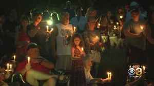 Hundreds Gather For Candlelight Vigil At Garden Of Reflection To Honor Victims Of 9/11 Attacks [Video]