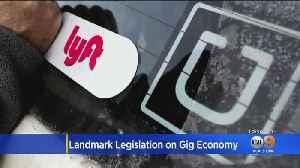 California Senate Passes Landmark Labor Bill That Would Impact Nearly 1 Million 'Gig Economy' Workers [Video]