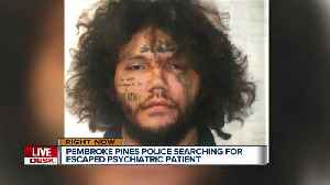 Man with 'history of violent behavior' escapes from South Florida mental hospital [Video]