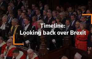 Timeline: Looking back over Brexit [Video]