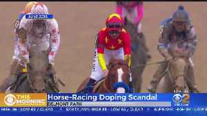 News video: Report: Triple Crown Winner Justify Failed Drug Test After Race At Santa Anita
