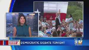News video: Top 2020 Democratic Contenders Take Stage For Debate In Houston
