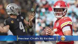 Chiefs-Raiders Preview: Can Oakland Slow Mahomes And Kansas City? [Video]