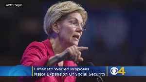 Elizabeth Warren Proposes Major Expansion Of Social Security [Video]