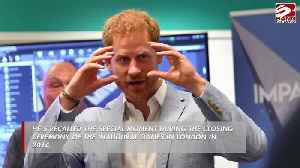 News video: Prince Harry recalls heartwarming moment with little girl at inaugural Invictus Games