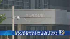 Pennsylvania Attorney General Files Lawsuit Against Owners Of Purdue Pharma [Video]
