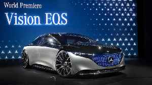 IAA 2019 Mercedes: World Premiere of the Mercedes Vision EQS [Video]