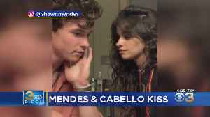 Shawn Mendes, Camila Cabello Share Sloppy Kiss After Criticism Over How They Kiss [Video]