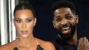 Kim Kardashian Has Dinner With Tristan Thompson! Laughing & Talking ALL NIGHT! [Video]