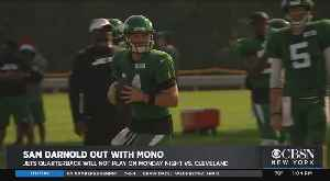 News video: Jets' Darnold Out With Mono