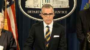 News video: McCabe's Bid To Avoid Charges Rejected By DOJ