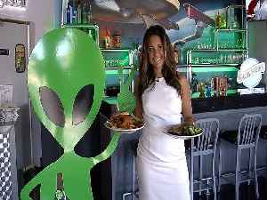 LIFE-SIZED UFO! Space Age Restaurant and Lodge is most popular stop on way to San Diego - ABC15 Digital [Video]