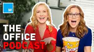 News video: Jenna Fischer, Angela Kinsey to make 'The Office' podcast