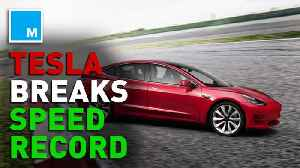 News video: Tesla claims Model S sets fastest four-door record at Laguna Seca