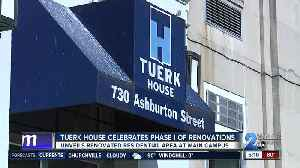 Tuerk House celebrates phase I of renovations to residential area [Video]