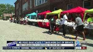 Maryland Food Bank encouraging volunteers to do more [Video]