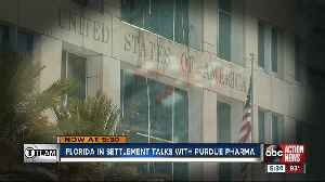 Florida negotiating settlement with Purdue Pharma over opioid crisis [Video]