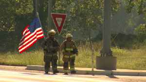 Firefighters Flag [Video]