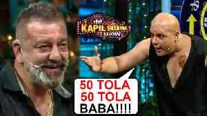 Kapil As Shatrughan, Krushna As KANCHA Cheena | Sanjay Dutt | The Kapil Sharma Show | Prasthanam [Video]