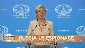 News video: Russia-U.S. spy row: Moscow asks Interpol for location of former Kremlin official