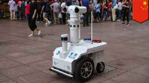 Cute robot police officer now patrols Shanghai's Nanjing Road [Video]