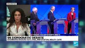 Gun laws, immigration and healthcare in focus at latest Democratic Primary debate [Video]