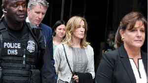 Actress Felicity Huffman Faces The Court For Sentencing [Video]