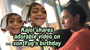 Kajol shares adorable video on son Yug's birthday [Video]