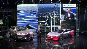 BMW Group Press Conference at the Frankfurt International Motor Show 2019 [Video]