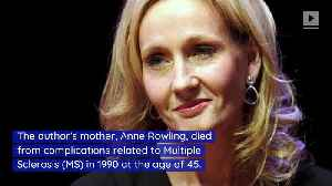 J.K. Rowling Donates $19M to Fund MS Research [Video]