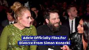 Adele Officially Files for Divorce From Simon Konecki [Video]